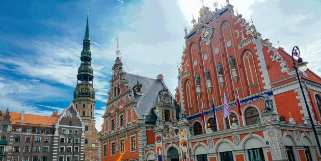 Города Европы: Рига, Латвия