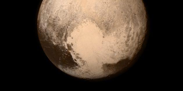 Фото космоса: сердце Плутона