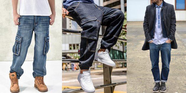 «Рабочие» джинсы