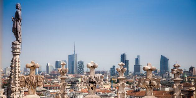 Города Европы: Милан, Италия