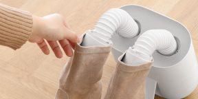 Xiaomi дня: универсальная сушилка для обуви, убивающая 99,9% бактерий
