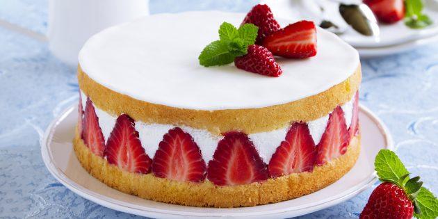 Сливочно-сырный крем для торта