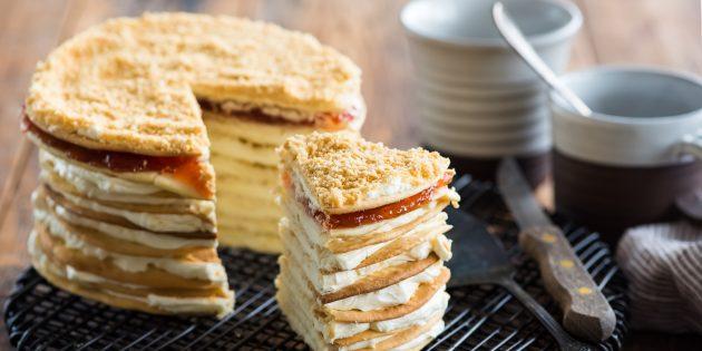 Сметанный заварной крем для торта: простой рецепт