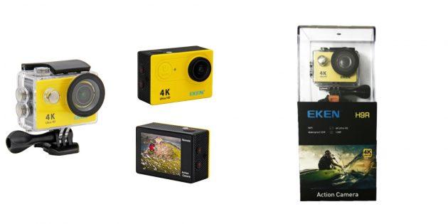 Гаджеты для велосипедов: Экшен-камера