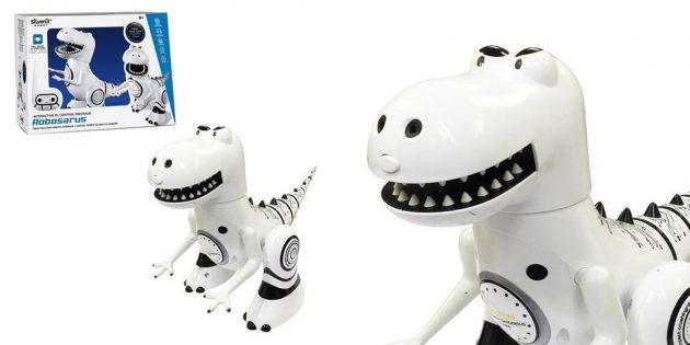 Роботы для детей и взрослых: Silverlit «Робозавр»