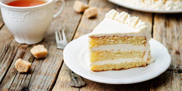 Масляно-сахарный крем с молоком для торта: лучший рецепт