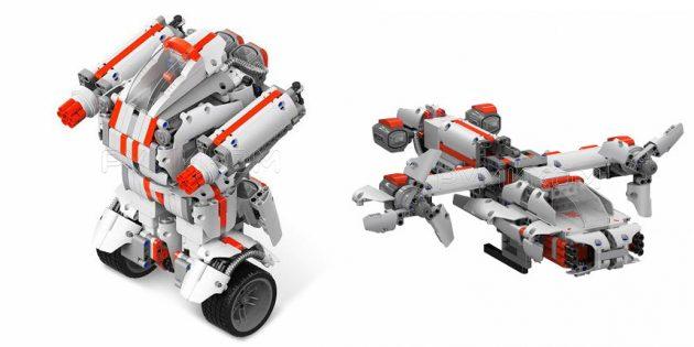 Роботы для детей и взрослых: колёсный Xiaomi Mi Bunny Block Robot