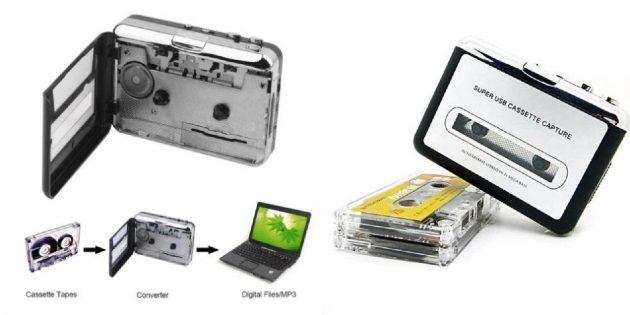 Конвертер для оцифровки аудиокассет