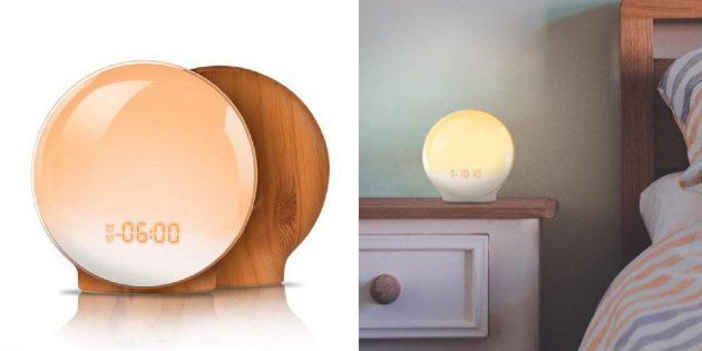 Будильник-светильник