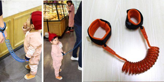 Детский браслет анти-потеряшка