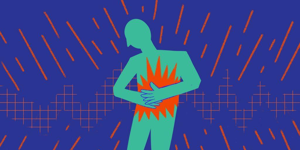 Первая помощь при боли в желудке