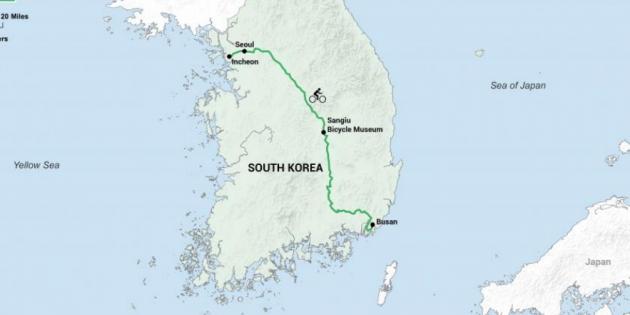 Достопримечательности Южной Кореи: проехать всю страну от севера до юга можно в туре Zelenski Cycle the World