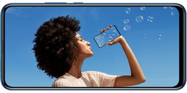 Huawei представила недорогой P smart Z с выдвижной камерой и NFC