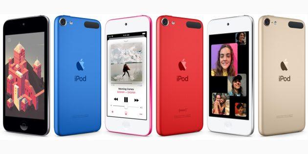 Apple представила новый плеер iPod touch
