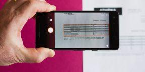 Excel для iPhone научился превращать бумажные таблицы в электронные