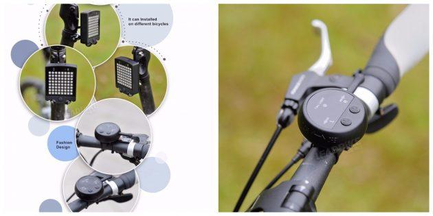 Гаджеты для велосипедов: Светодиодный поворотник