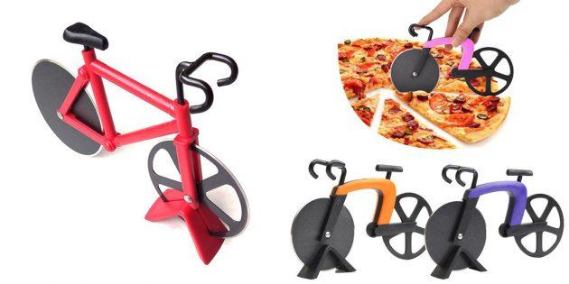 Нож-велосипед для пиццы