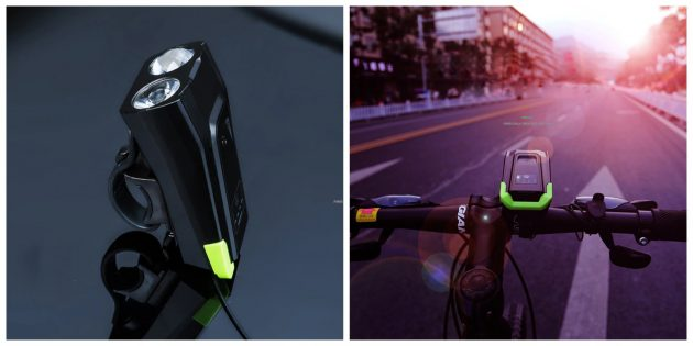 Гаджеты для велосипедов: Смарт-фонарь