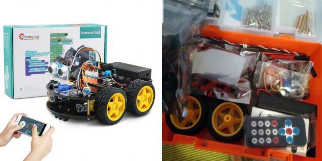 Роботы для детей и взрослых: Keywish Hummer-Bot 2.0