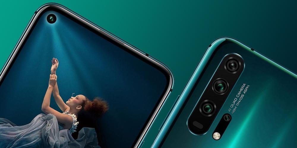 Huawei выпустила «народные флагманы» Honor 20 и Honor 20 Pro