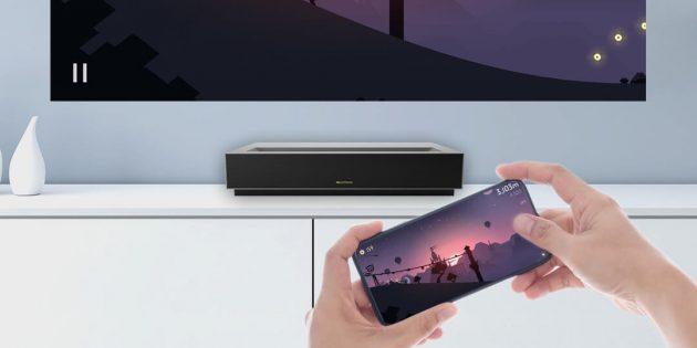 Xiaomi представила короткофокусный ТВ‑проектор с поддержкой 4К и 3D