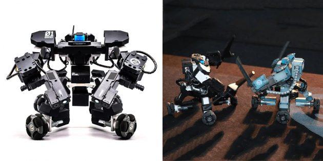 Роботы для детей и взрослых: GJS Ganker