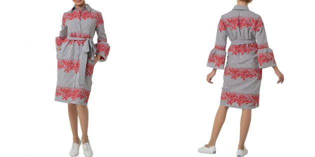 Платье-рубашка от Adzhedo