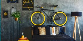 8 интересных способов хранить велосипед