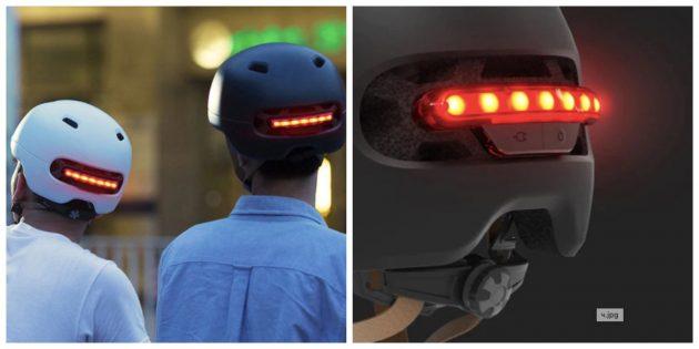 Гаджеты для велосипедов: Шлем с подсветкой от Xiaomi