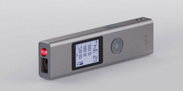 Xiaomi выпустила компактный лазерный дальномер Duka LS-P