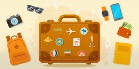 18 вещей, которые точно пригодятся в путешествии