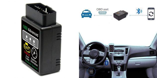 Сканер OBD-II