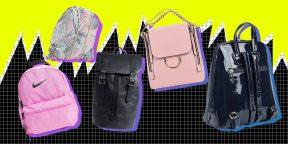 8 самых модных женских и мужских рюкзаков 2019 года