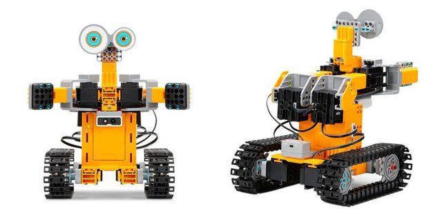 Роботы для детей и взрослых: UBTech Jimu TankBot