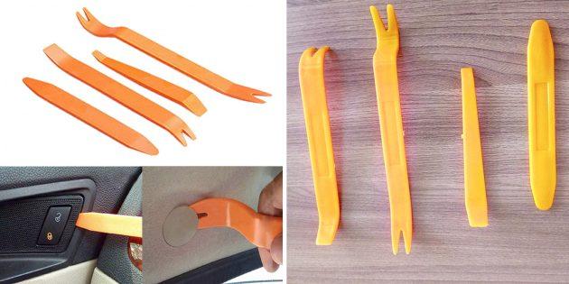 Инструменты для демонтажа обшивки салона