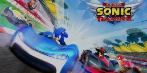 Игра дня: Team Sonic Racing — как Mario Kart, только про Соника