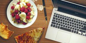 Опрос: берёте обед на работу из дома или ходите в кафе?
