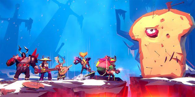 Игра дня: BOSSGARD — мультиплеерный экшен, в котором викинги сражаются с причудливыми боссами