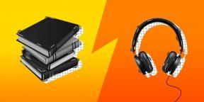 Что лучше: аудиокниги или обычное чтение