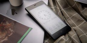 Штука дня: Kingrow K1 — смартфон с экраном E-ink и автономностью 2 недели