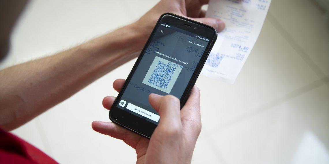Чтобы получить кешбэк, отсканируйте в приложении Biglion QR-код с чека