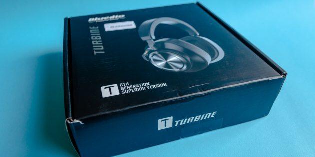 Беспроводные наушники Bluedio Turbine T6S: коробка