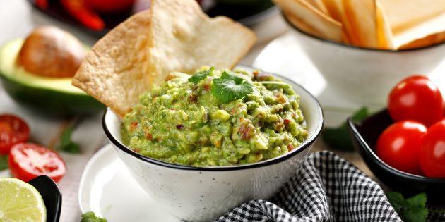 Рецепты для блендера: Гуакамоле