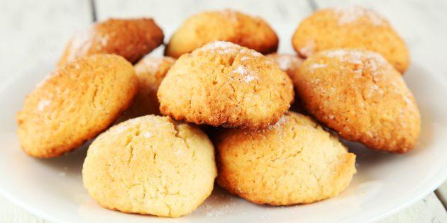 Мягкое кокосовое печенье: рецепты