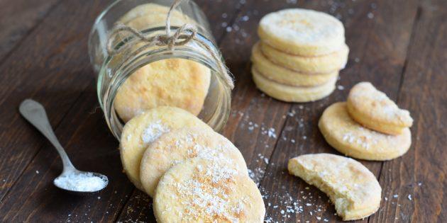 Печенье на кокосовом молоке