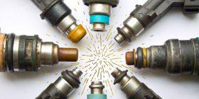 Как промыть форсунки инжектора своими руками