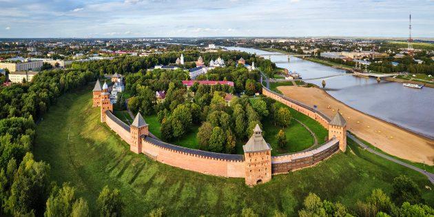 Новгородский детинец, Великий Новгород