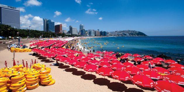 Достопримечательности Южной Кореи: песчаные пляжи