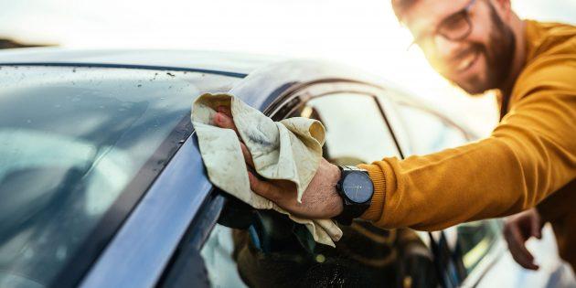 Полировка лобового стекла: как делать и на какой результат можно рассчитывать