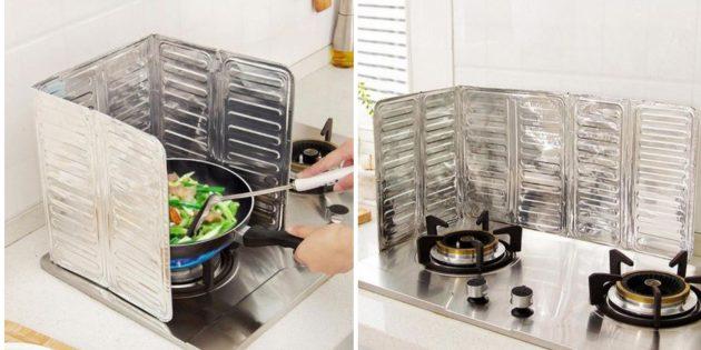 Перегородка для плиты